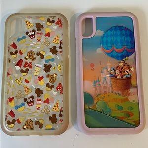 Disney Parks D-Tech iPhone XR cases